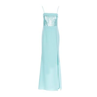 ANTONIO D'ERRICO ロングワンピース&ドレス ライトグリーン 42 ポリエステル 100% ロングワンピース&ドレス