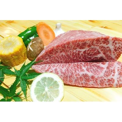 黒毛和牛 近江牛 【特上霜降】 イチボ 焼肉ステーキ ブロック肉 【500g】 【BM05SM】