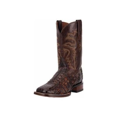 """ウエスタン カウボーイ ブーツ シューズ 靴 ダンポスト Dan Post Western ブーツ メンズ 11"""" Alamosa FQ Ostrich 14 D Cognac DP3877"""