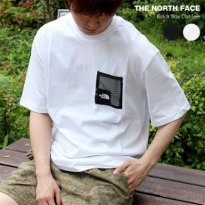 ノースフェイス THE NORTH FACE メンズ Tシャツ 半袖 Mens Black Box Cut Tee 557K