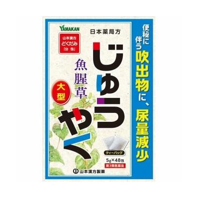 【第3類医薬品】山本漢方製薬 日本薬局方 ジュウヤク 5g×48包