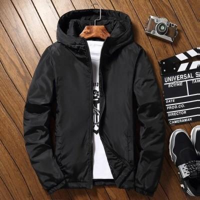 ジャケット 長袖 コート メンズ フード付き ナイロンジャケット アウトドア 新品 大人気 春秋 WL1024044-4
