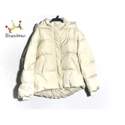 リリーブラウン Lily Brown ダウンジャケット サイズF レディース - アイボリー 長袖/冬 新着 20210122