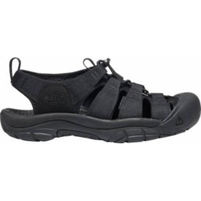 キーン メンズ サンダル シューズ KEEN Men's Newport H2 Sandals Triple Black