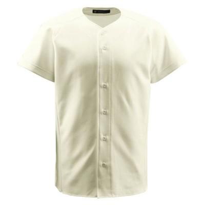 返品可 レビューで次回2000円オフ 直送 デサント(DESCENTE) ジュニアフルオープンシャツ (野球) JDB1011 Sアイボ 130 スポーツ・レジャー スポーツ用品・ス