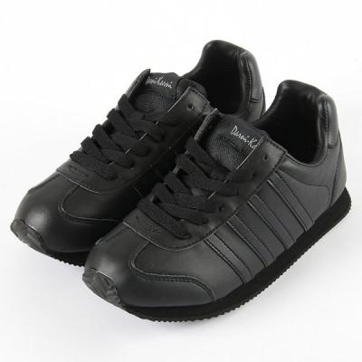 スニーカー レディース カジュアル 3163 ブラック 22.5〜25cm レディス 作業靴 黒 靴 シューズ