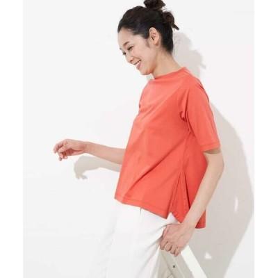 GEORGES RECH/ジョルジュ・レッシュ 【洗える】ロゴTシャツ オレンジ 40