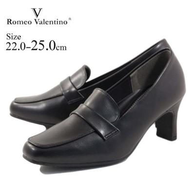 romeo valentino ロメオバレンチノ パンプス スクエアマニッシュパンプス vb3302 リクルート フォーマル 冠婚葬祭