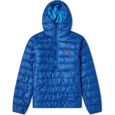 パタゴニア Patagonia メンズ ダウン・中綿ジャケット アウター Down Sweater Hoody Superior Blue