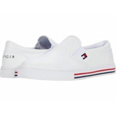 Tommy Hilfiger トミー ヒルフィガー レディース 女性用 シューズ 靴 スニーカー 運動靴 Lezari White/White【送料無料】