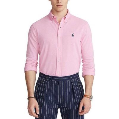 ラルフローレン メンズ シャツ トップス Featherweight Mesh Long-Sleeve Woven Shirt