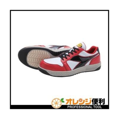 ドンケル ディアドラ 安全作業靴 グレーブ レッド/ホワイト/ブラック 26.0cm GR312-260 【122-9977】