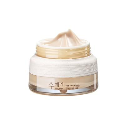 【the saem】スエラン ラディエンス クリーム 60ml Sooyeran Radiance Cream