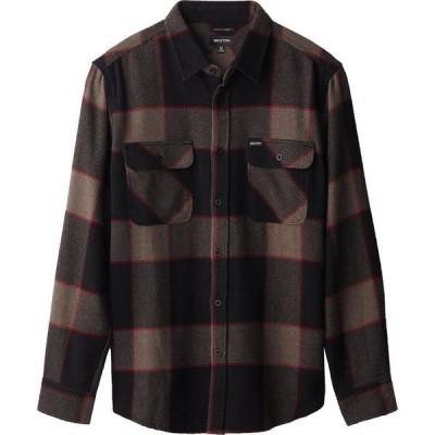 ブリクストン メンズ シャツ トップス Bowery Long-Sleeve Flannel Shirt