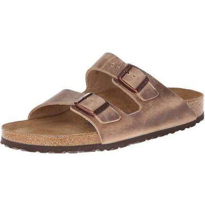 ビルケンシュトック Birkenstock USA メンズ サンダル シューズ・靴 Birkenstock Arizona Soft Footbed Sandal Tobacco Oiled Leather