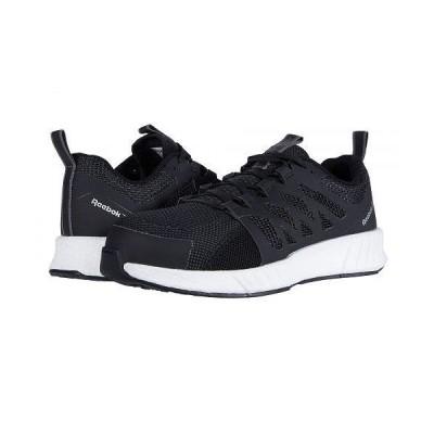 Reebok Work リーボック メンズ 男性用 シューズ 靴 スニーカー 運動靴 Fusion Flexweave Cage Composite Toe - Black/White