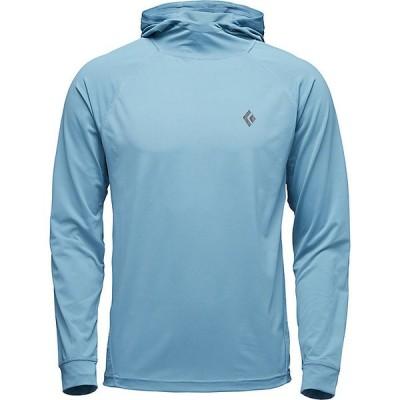 ブラックダイヤモンド パーカー・スウェットシャツ メンズ アウター Black Diamond Men's Alpenglow LS Hoody Slate Blue