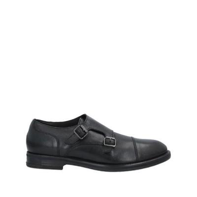 SEBOY'S メンズ モカシン シューズ 靴 ブラック