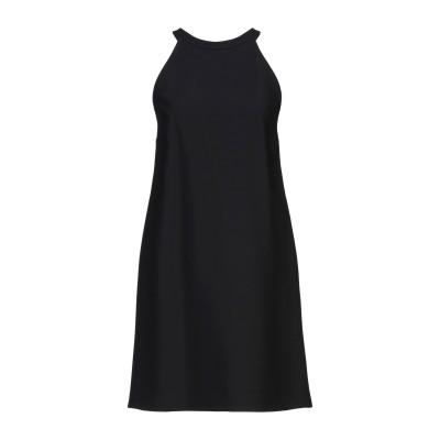 ミュウミュウ MIU MIU ミニワンピース&ドレス ブラック 38 レーヨン 100% ミニワンピース&ドレス