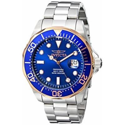 腕時計 インヴィクタ インビクタ Invicta Men's 17554 Pro Diver Analog Display Swiss Quartz Silver