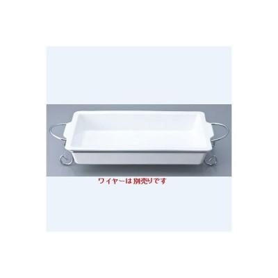 ベーキング皿 41cm長角ベーカー/41×24×H6.5cm/業務用/新品