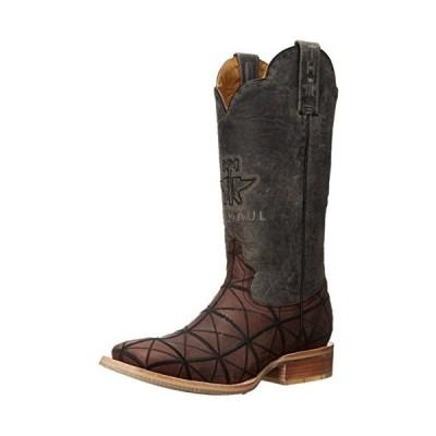 Tin Haul Shoes Men's Derrick Work Boot, Brown, 11 2E US並行輸入品