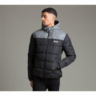 ペン スポーツ Penn Sport メンズ ダウン・中綿ジャケット アウター penn puffer jacket Black/Reflect