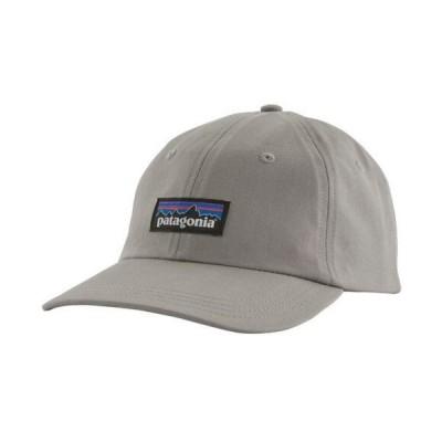 パタゴニア 帽子 アクセサリー メンズ Patagonia Men's P-6 Label Traditional Hat DrifterGrey