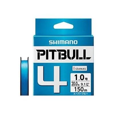 シマノ(SHIMANO) PEライン ピットブル 4本編み 150m 1.5号 スーパーブルー 31.7lb PL-M54R 釣り糸