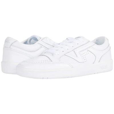 バンズ Lowland CC メンズ スニーカー 靴 シューズ (Leather) True White/True White