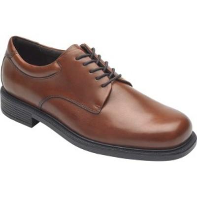 ロックポート メンズ ドレスシューズ シューズ Margin Oxford New Brown Leather