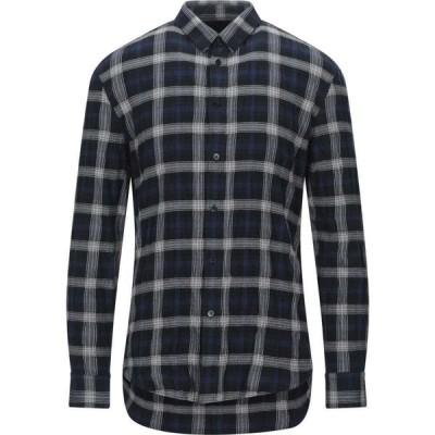 ドライコーン DRYKORN メンズ シャツ トップス Checked Shirt Black