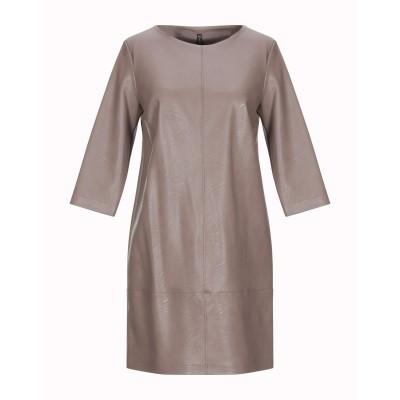 マニラ グレース MANILA GRACE ミニワンピース&ドレス カーキ 46 ポリエステル 100% / ポリウレタン ミニワンピース&ドレス