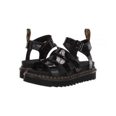 Dr. Martens ドクターマーチン レディース 女性用 シューズ 靴 サンダル Blaire - Black Patent Lamper