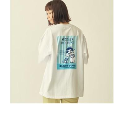 【WEB限定】 <OSAMU GOODS(R)>×<info. BEAUTY&YOUTH> PRINT TEE/Tシャツ