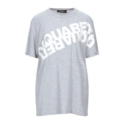 ディースクエアード DSQUARED2 T シャツ グレー XS コットン 88% / レーヨン 12% T シャツ