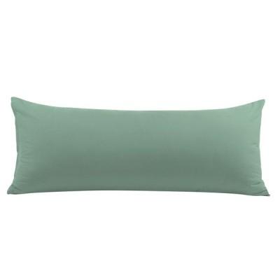 uxcell PiccoCasa ジッパーク ロージャー付き 抱き枕枕ケース ソフトロングピローケース スパブルー 50*120cm