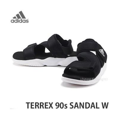 アディダス サンダル adidas Originals TERREX 90s SANDAL W シューズ レディース カラー:コアブラック/フットウェアホワイト