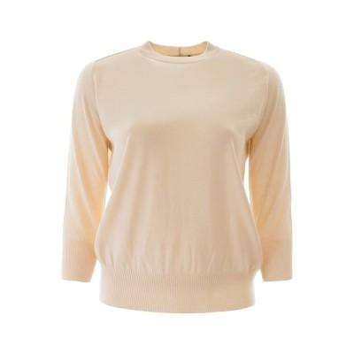 ロロピアーナ レディース ニット&セーター アウター Loro Piana Crewneck Cropped Sleeve Sweater -