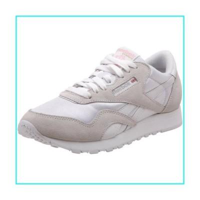 [リーボック] CL Nylon [並行輸入品] - 6394 - Color: 白-ベージュ - Size: 24.5