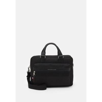 トミー ヒルフィガー ショルダーバッグ メンズ バッグ ELEVATED COMPUTER BAG - Briefcase - black
