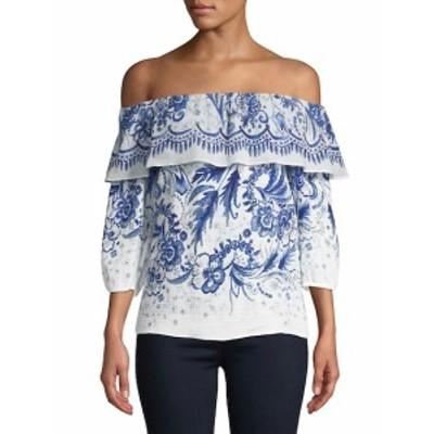 ベイリー44 レディース トップス シャツ Farmers Market Vintage Floral Off-The-Shoulder Cotton Top