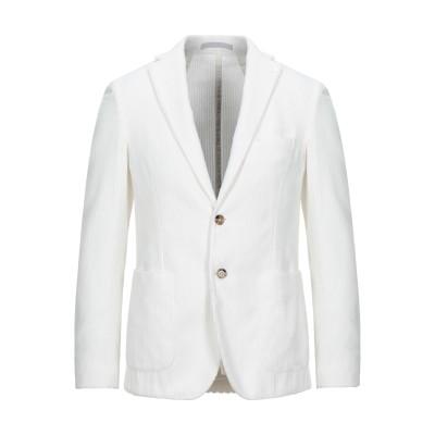 イレブンティ ELEVENTY テーラードジャケット ホワイト 52 コットン 100% / ポリエステル テーラードジャケット