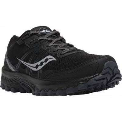 サッカニー メンズ スニーカー シューズ Men's Saucony Excursion TR14 Trail Running Sneaker Black/Charcoal