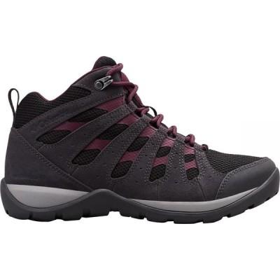 コロンビア Columbia レディース ハイキング・登山 ブーツ シューズ・靴 Redmond V2 Mid WP Hiking Boot Black/Black Cherry