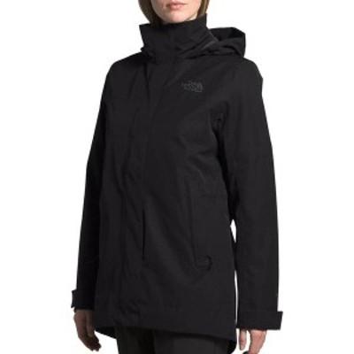 ノースフェイス レディース ジャケット・ブルゾン アウター The North Face Women's Westoak City Trench Rain Jacket TNF Black