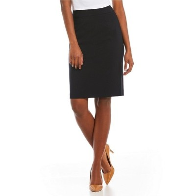 カルバンクライン レディース スカート ボトムス Petite Pencil Skirt Navy