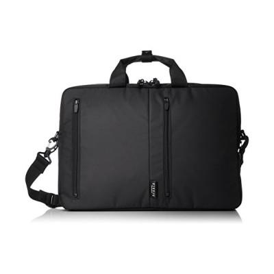 バジェックス ビジネスバッグ B4ファイル収納可 ショルダーベルト付 23-0586 ブラック