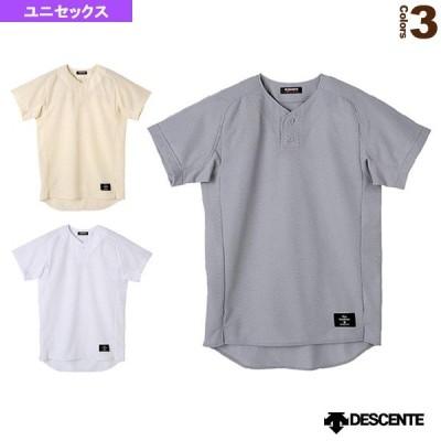 デサント 野球ウェア(メンズ/ユニ)  ハーフボタンシャツ/レギュラーシルエット/試合用ユニフォームシャツ(STD-30TA)