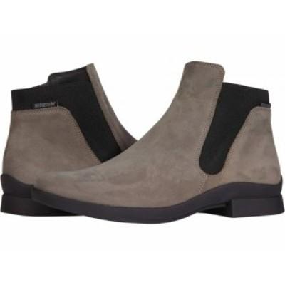 Mephisto メフィスト レディース 女性用 シューズ 靴 ブーツ アンクル ショートブーツ Soria 1 Pewter Bucksoft【送料無料】